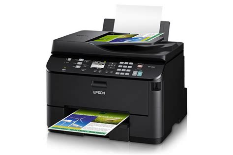 Printer All In One Epson Pro Workforce Wp 4590 epson workforce pro wp 4530 all in one printer inkjet printers for work epson canada
