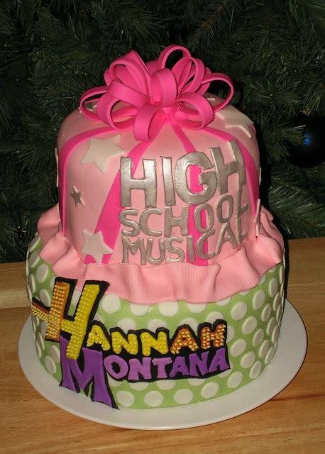 hannah montanahigh school musical cake flickr photo