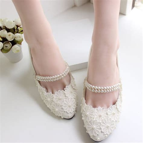 Ballet Wedding Shoes by Beautiful Fancy Ballet Flat Shoes For Modern How