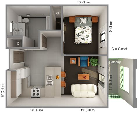 40 m2 to square feet 439 square feet 40 square meters wheelchair accessible
