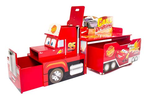 cars storage bench disney kids cars bench childrens toy storage kids bedroom playroom tidy chest ebay