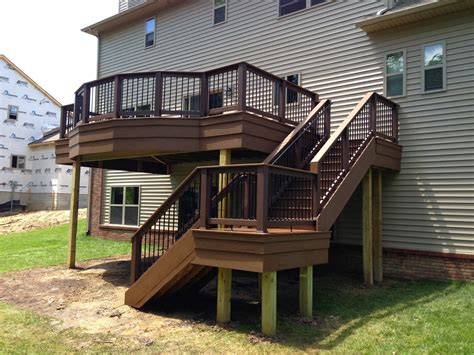 home designer pro walkout basement outdoor living deck designs from 2013 adding flair to a