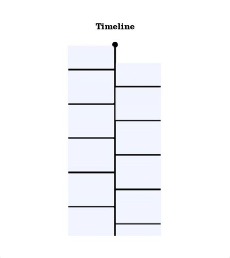 timeline templates for student 8 free sles