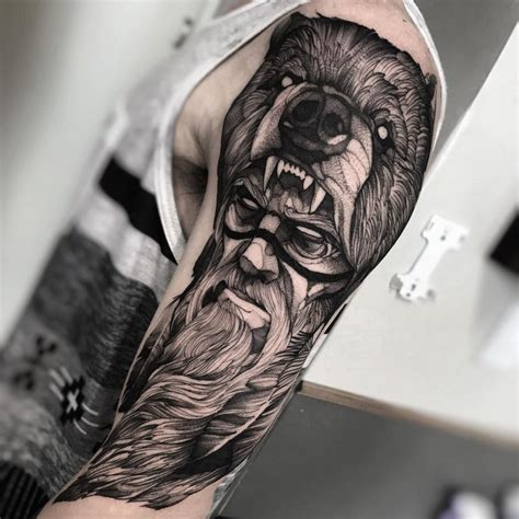 bear tattoo meaning and symbolism tatuagens ideias de