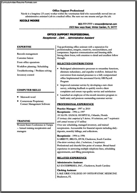 free microsoft office resume templates resume templates for microsoft office free sles