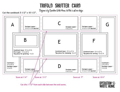 tri fold card template free 1000 images about tri fold shutter cards on