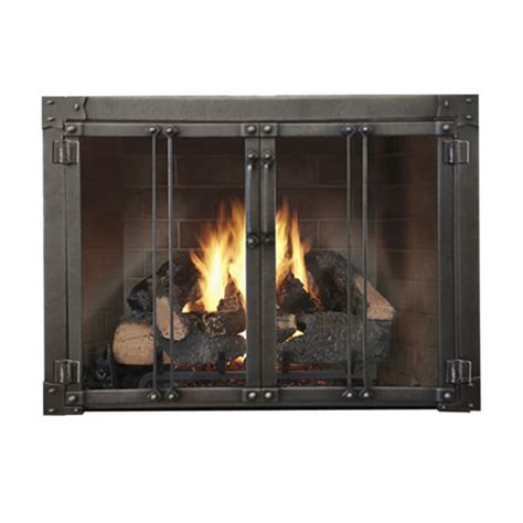 armada masonry fireplace glass door woodlanddirect