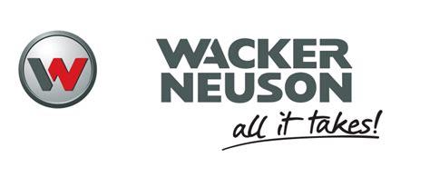 All It Takes wacker neuson sontrac equipment