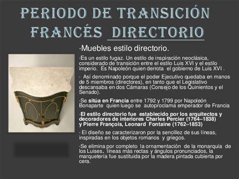 muebles en frances mueble directorio y consulado franc 233 s