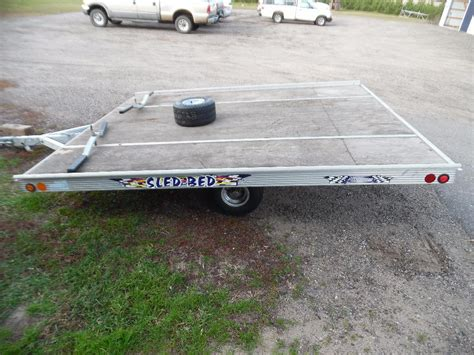 sled bed trailers we sell your stuff inc auction 167 in park rapids