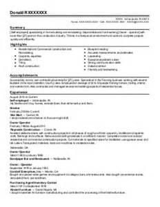 Drywall Installer Sle Resume drywall installer resume exle mastic new york