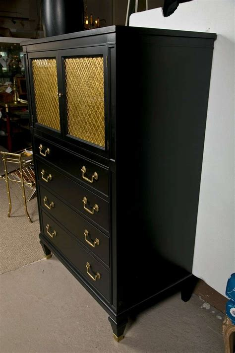 mens chest of drawers ebonized mens chest attrib to maison jansen at 1stdibs