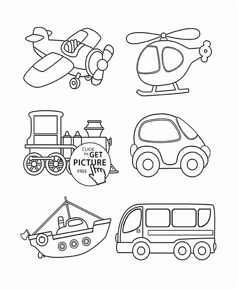 printable coloring pages vehicles vehicles truck coloring pages color printing sheets free