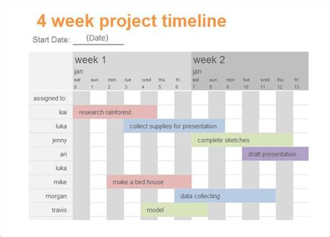 calendar timeline template download free premium