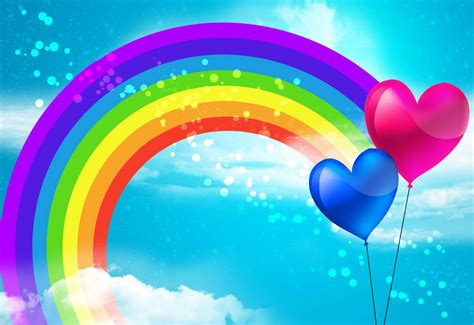 wallpaper rainbow cartoon backgrounds rainbow wallpaper cave