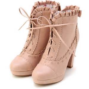 shabby chic pink boots well shod pinterest
