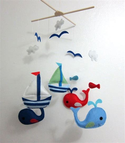 Nautical Crib Mobile by Nautical Mobile Baby Boy Nautical Nursery