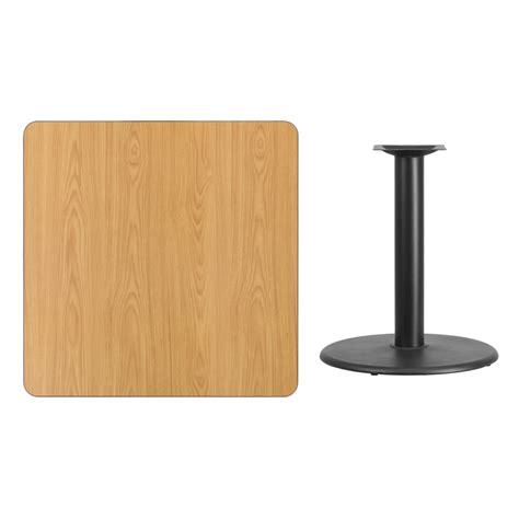 square table top 36 square laminate table top with 24 table height base