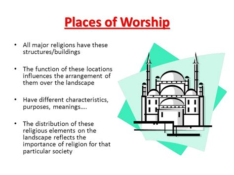 Landscape Structures Locations Chapter 6 Religion Ppt