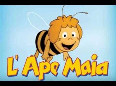 ape maia testo l ape maia sigla completa