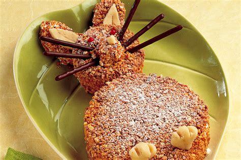 dolce con panna da cucina ricetta coniglietto dolce alla panna e nocciole la