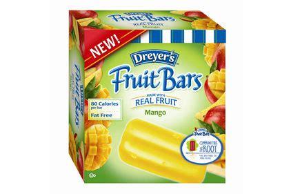 mango flavored edys fruit bars