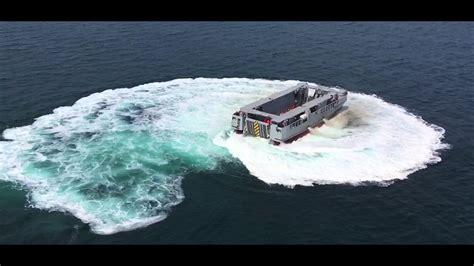 catamaran of ship l cat ship to shore landing catamaran by cnim youtube