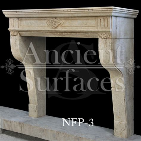 hand carved stone fireplace mantels   french