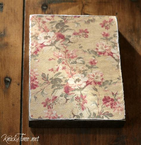 How To Decoupage On Wood - decoupage on wood block images