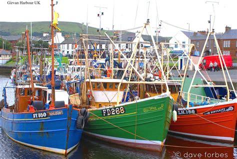 fishing boat jobs ayrshire colourful array of fishing boats at girvan clyde forth