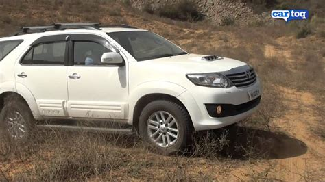 On Road Price Toyota Fortuner Toyota Fortuner Roading Review Cartoq Road