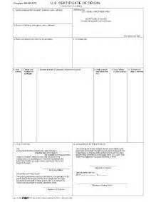 certificate of origin template pdf 6 free certificate of origin templates excel pdf formats