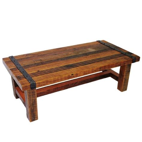 Wrought Iron End Tables Living Room Olde Forge Barnwood Coffee Table Has Solid Wrought Iron Accents Nails And Trim Rustic Living