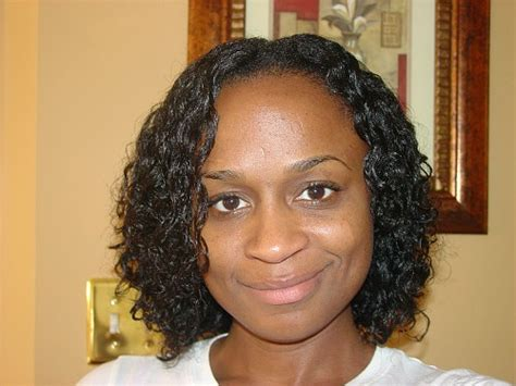 wave nouveau on natural hair photo curly perm day three 1 natural no more album