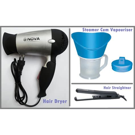 Best Hair Dryer With Cold Air In India combo of hair dryer branded steamer hair