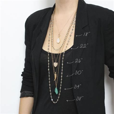 78 best ideas about necklace lengths on