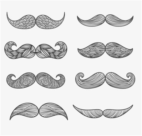pattern photoshop beard 8 beard design pattern vector material download free