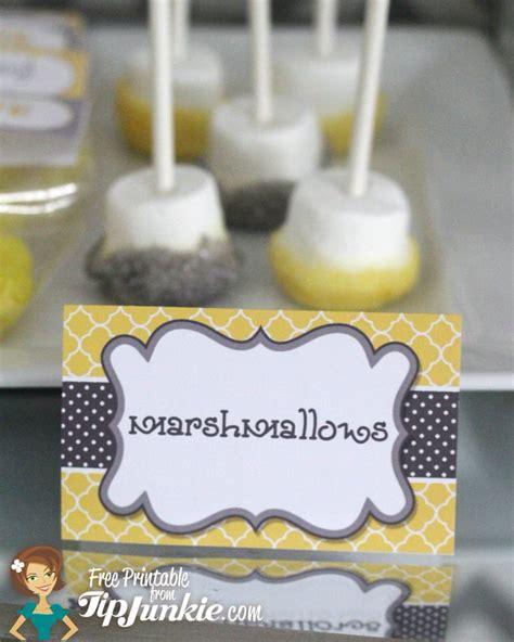 11 piece birthday party printable set instant download yellow and grey birthday party printables instant