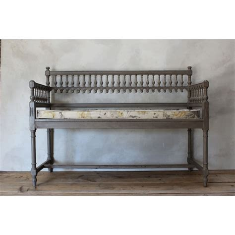 gothic bench gothic style painted bench furniture antique seating antique furniture