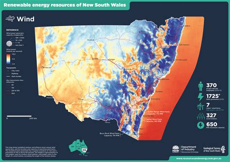 australia resource map map of wind resources in nsw nsw resources and energy
