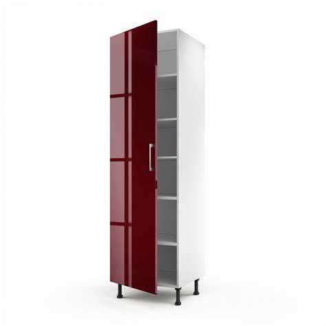 meuble cuisine 馥 60 meuble de cuisine colonne 1 porte griotte h 200 x l