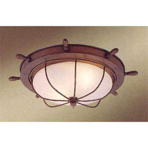 Nautical Flush Mount Ceiling Light Nautical Ceiling Light Bellacor