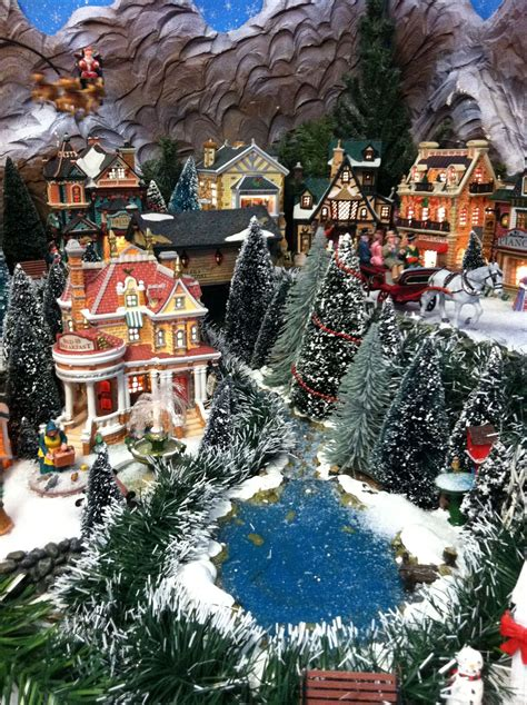 images of christmas village displays 2011 lemax christmas display park view christmas village