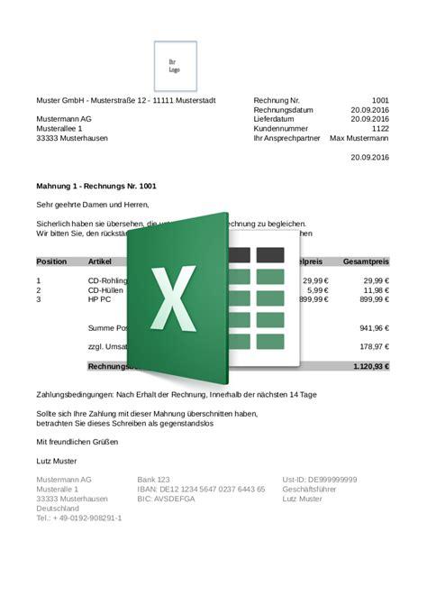 Kostenlose Vorlage Mahnung kostenlose mustervorlagen bonro de discounter f 252 r kassenrollen