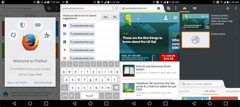 mozilla firefox for android inside firefox for android android central