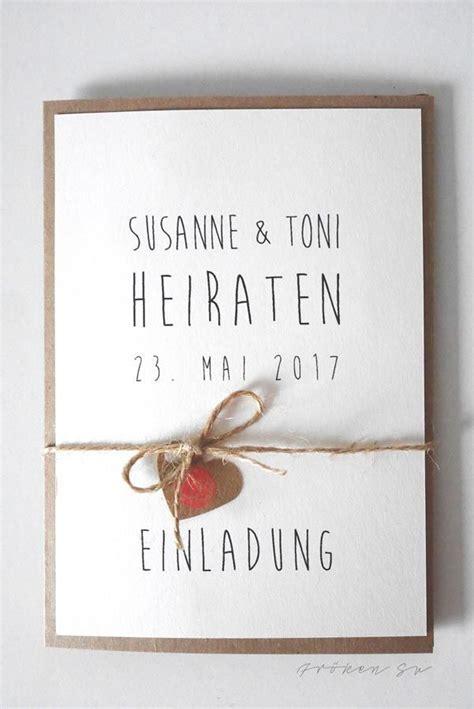 Einladung Hochzeit Inhalt by Die Besten 25 Hochzeitseinladungen Basteln Ideen Auf