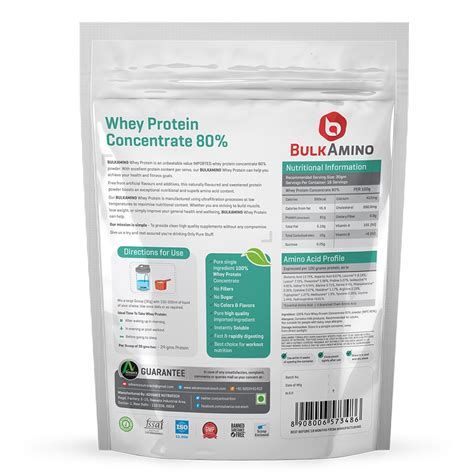 Whey Protein Concentrate 80 whey protein bulkamino whey protein concentrate 80
