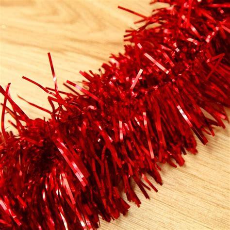 2m 6 5 ft christmas tinsel tree decorations tinsel
