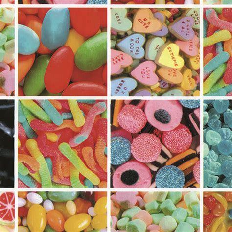 Sweets Sticky Vinyl Fablon FAB12867 45cm x 2M