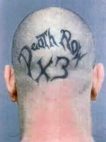 eyeball tattoo killer death row x3 serial killer boasts of triple murder in